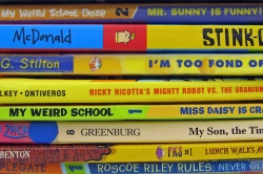 Read-Alike Books for Captain Underpants--great books for reluctant readers.