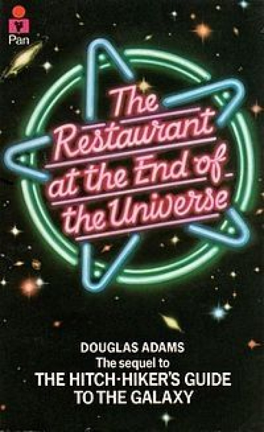 Restaurant At The End Of The Universe Original Cover
