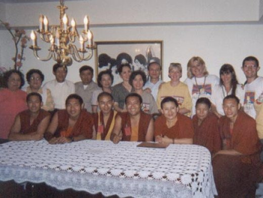 Dinner with the Drepung-Loseling Monks and Ani Choying Drolma