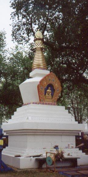 Stupa at Folklife Festival