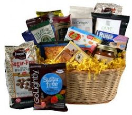 Deliciously Diabetic Gift Basket