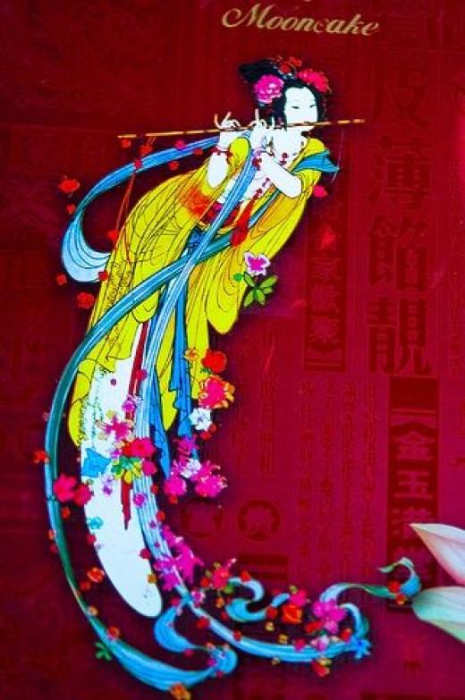 The Moon Goddess Chang E