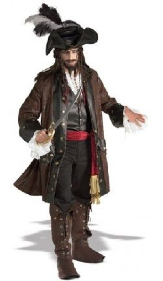 Rubie's Co Grand Heritage Collection Deluxe Caribbean Pirate Costume