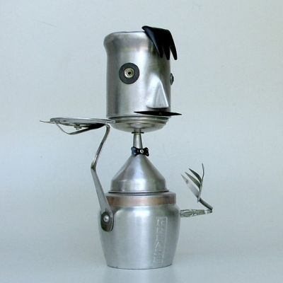 Kitchen Robot by Donna Leuck  *Click to View Artist Site*