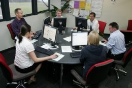 Modern web-based learning with opportunities to collaborate