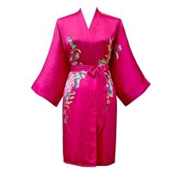 click to buy this short silk kimono