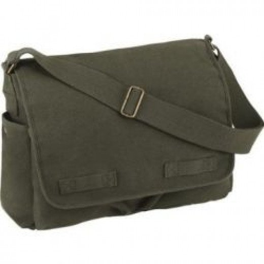 Buy A Canvas Messenger Bag