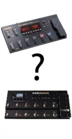 POD HD 500 vs Boss GT-100