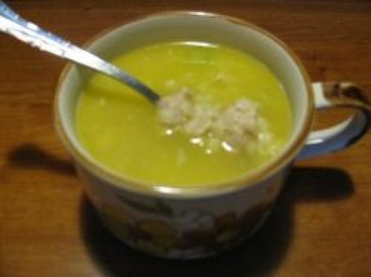 A Cup of Chicken & Stars soup