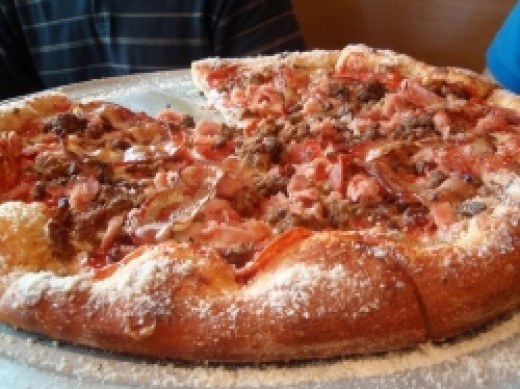 Your pizza should look more like this!