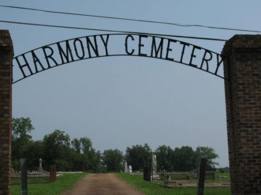 Harmony Cemetery, Richland, GA