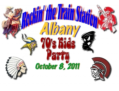 The Kids of the 70's Rocked the Train Station!
