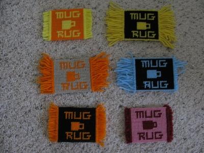 Bootsie's Mug Rugs