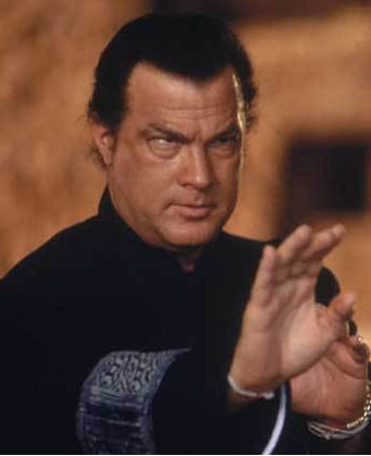 Steven Seagal in action