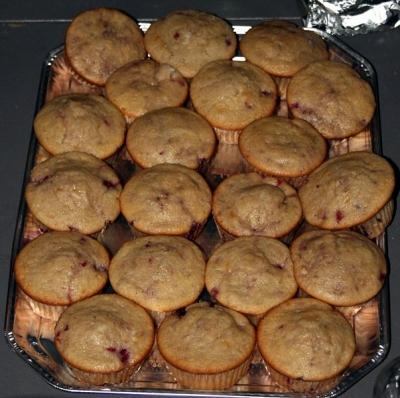 Raspberry Cream Muffins Recipe