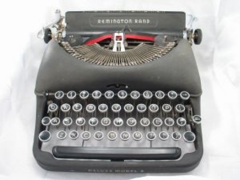 Mma Grace Makutsi probably uses this typewriter.