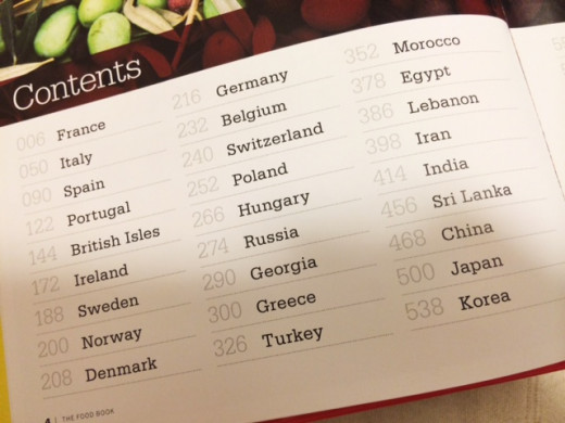 Here are some of the countries included in this book.