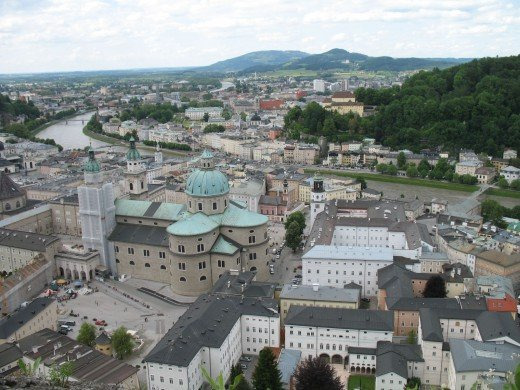 View Of The City From Hohensalzburg
