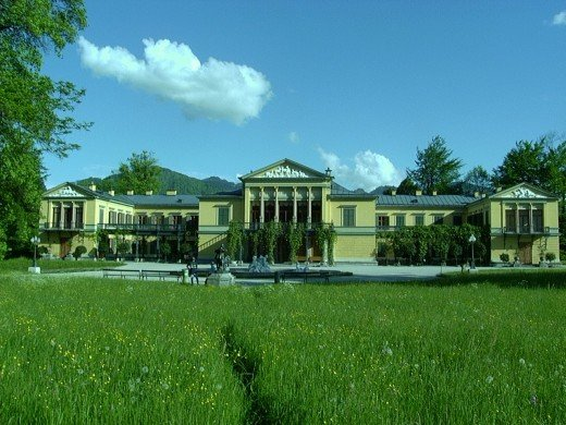 Kaiservilla in Bad Ischl in Salzkammergut