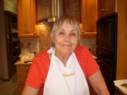 My Mom, Vivienne Owen, Christmas 2008