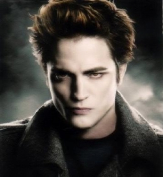 Edward Cullen played by Robert Pattinson
