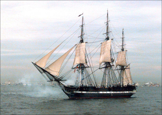 USS Constitution - the oldest commissioned naval vessel in the world