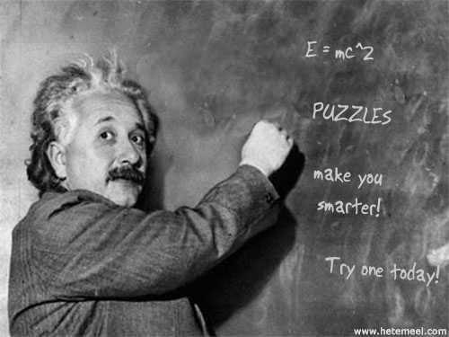 Einstein Likes Puzzles