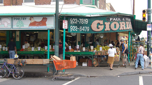 A Shop in Philly's Italian Market
