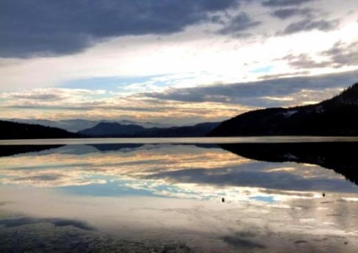 Wood Lake Mirror