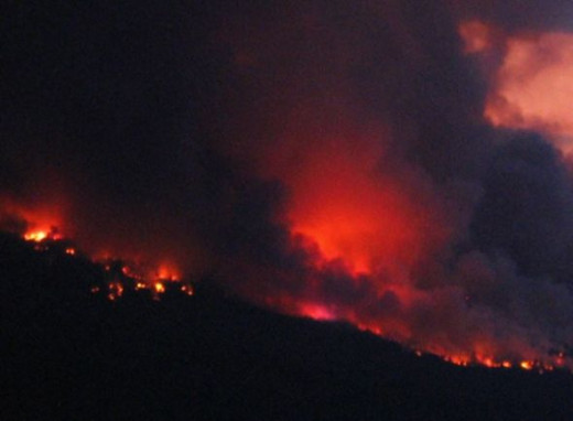 A fire we witnessed 2011.