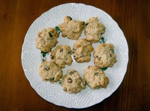 Vernon Oatmeal Cookies