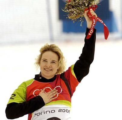 Dominique Maltais started skiing when she was 5 years old, and when she saw the snowboard for the first time, she knew it was made for her. Maltais won the only medal for Canada in Turin, where she captured the bronze.