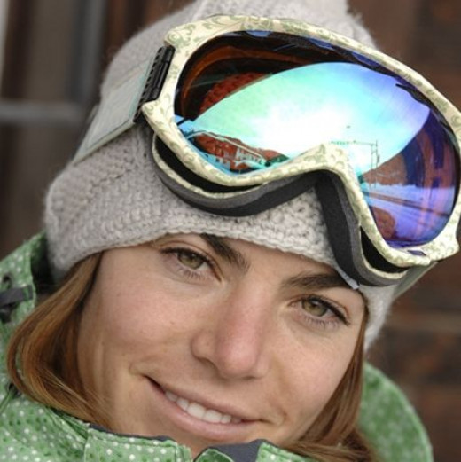 Pretty Snowboard Gold Medalist Maelle Ricker