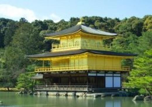 Golden Temple, Japan