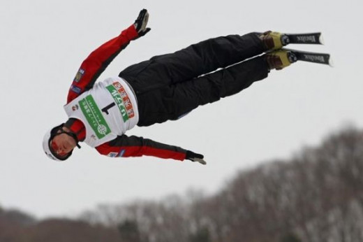 World Cup overall champion three years running. Four straight World championship podium finishes.  I believe that Steve Omischl, who grew up in North Bay, Ont., and now lives in Kelowna is the world's best aerialist.