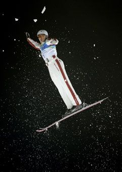 Kyle Nissen - Canadian Freestyle competitor - Feb.25,2010 Vancouver Winter Olympics