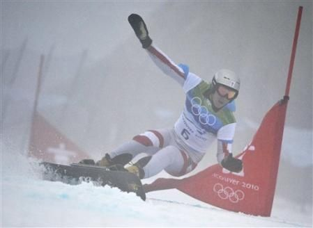 Benjamin Karl of Austria in thick fog but wins Silver