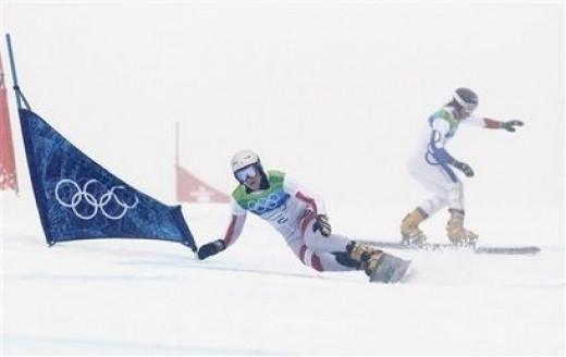 PGS - Left to Right Benjamin Karl - Austria & Matthieu Bozzetto -France