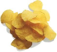 potato chips, potato chip, eating potato chips