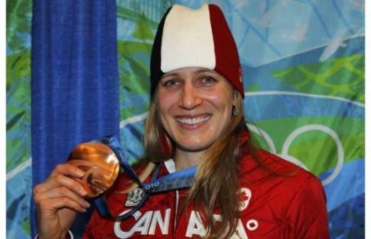 Kristina Groves - Bronze - Speed Skating 3000m.