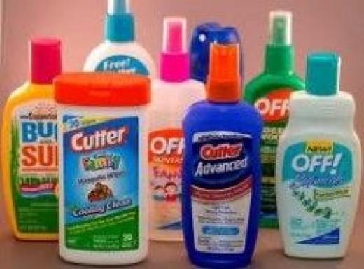 Wear Mosquito Repellent