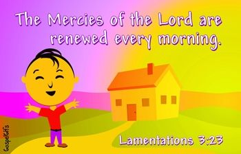 Lamentation 3:23