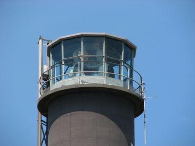 Oak Island Light and observation deck