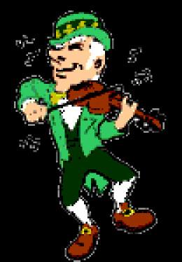 Leprechaun Fiddler