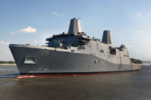 The USS Somerset is the most recently commissioned vessel in the US Navy