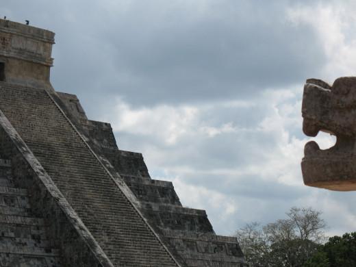 Another view of El Castillo