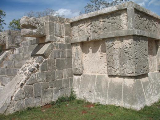 Ornate platform