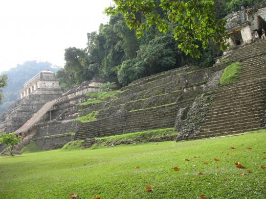 Entering into Palenque
