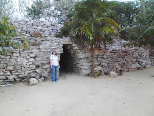 Me at entrance