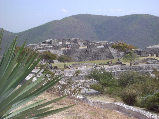 Looking out over Xochicalco 2002